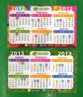 10-URUGUAY-Calendarios-2012  Y  2013 Coop. Magisterial - Calendars