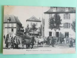 RIGNAC - Un Jour De Marché - Autres Communes