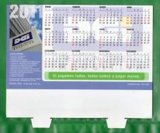 12-URUGUAY-2011-Calendario De Mesa De La  D.G.I.  Con Fechas De  Vtos. - Calendriers