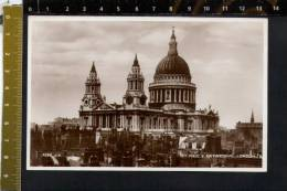 D2527 London - Saint Paul's Cathedral ( San Paolo ) - Real Photograph - St. Paul's Cathedral