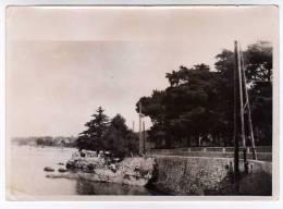 720B)- D06 - PHOTO - LA ROUTE DU CAP D´ANTIBES 1932 - Antibes