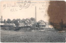 VILLENEUVE SAINT GERMAIN La Sucrerie  Tache D'huile - France