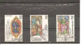 España/Spain-(usado) - Edifil  2721-23 - Yvert  2341-43 (o) - 1931-Hoy: 2ª República - ... Juan Carlos I