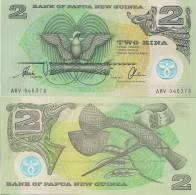 Papua New Guinea P-16b, 2 Kina, Axe, Marriage Bed -  POLYMER $6+CV - Papua New Guinea