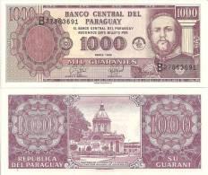 Paraguay P-214, 1000 Guarani,Virgin Of Asunción Church - National Pantheon - Paraguay