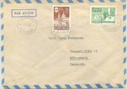 Finland Airmail 7-7-51 - Airmail