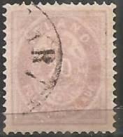 Islanda 1876 Usato - Mi. 10A  Dent. 14x13 1/2 - Oblitérés