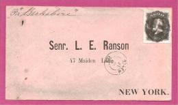 BRESIL N° 35 Sur Lettre - Lettres & Documents