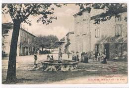 26- St Barthélemy De Vals -  La Place. - Zonder Classificatie