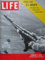 Magazine LIFE -  FEBUARY 8 ,  1954 - INTERNATIONAL EDITION -         (3016) - Nouvelles/ Affaires Courantes