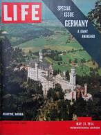 Magazine LIFE - MAY 31, 1954 - INTERNATIONAL EDITION - GERMANY , Allemagne - Konrad ADENAUER - Le Rhin - Bavière (3017) - Nouvelles/ Affaires Courantes