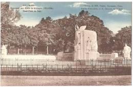 Dépt 21 - DIJON - Monument Aux Morts De La Guerre (1914-1918) - Rond-Point Du Parc - Dijon