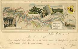 Guide Des Ardennes- Cours De La Lesse - 1903 ( Voir Verso ) - België