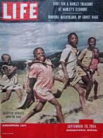 Magazine LIFE - SEPTEMBER 20 , 1954 - INTERNATIONAL EDITION -  Afrique -  Pierre MENDES-FRANCE  (3018) - Nouvelles/ Affaires Courantes