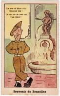 Brussel, Souvenir De Bruxelles, Manneken Pis, Ed Roberty. Humoristisch, Humouristique (pk8577) - Personnages Célèbres