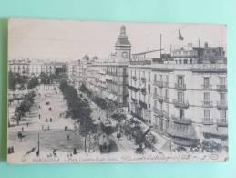 BARCELONA -plaza Cataluna - Barcelona