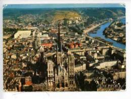 Rouen : Vue Aérienne - Cathédrale St Maclou Seine Bonsecours Darnétal - Rouen