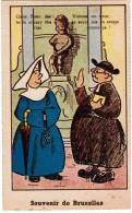 Brussel, Souvenir De Bruxelles, Manneken Pis, Ed Roberty. Humoristisch, Humouristique (pk8581) - Personaggi Famosi