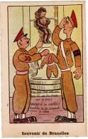 Brussel, Souvenir De Bruxelles, Manneken Pis, Ed Roberty. Humoristisch, Humouristique (pk8582) - Personnages Célèbres