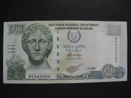 Cyprus 2005 10 Pound UNC (1 Piece) - Chypre