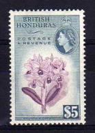 British Honduras - 1953 - $5 Dollar Definitive - MH - British Honduras (...-1970)