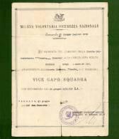 D-IT PNF Venezia 1931 Milizia Volontaria Camicia Nera Scelta - Documenti Storici