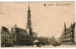 Brussel, Bruxelles, Hotel De Ville Et Grand'Place (pk8598) - Places, Squares