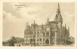 Gelsenkirchen, Rathaus, Davor Festbaum O.ä. (?), Um 1920/30 - Gelsenkirchen