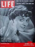 Magazine LIFE - OCTOBER 4 , 1954 -  INTERNATIONAL EDITION -  Italie - VENEZUELA      (3019) - Nouvelles/ Affaires Courantes