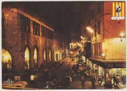 Perpignan - La Loge De Mer (nuit): TRIUMPH SPITFIRE 4 MK I, MASERATI 3500 GT- Car/Auto/Voiture - France - PKW