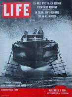 Magazine LIFE - NOVEMBER 1 , 1954 - INTERNATIONAL EDITION   (3021) - Nouvelles/ Affaires Courantes