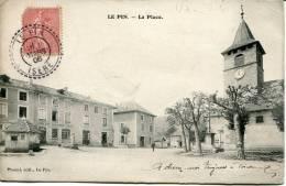 Cpa         (38)        Le Pin  - La Place - Francia