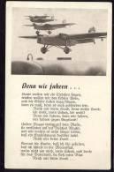 AK   WWII.    DEUTSCHE REICH   NAZI AIRPLANES     PROPAGANDA - Dirigibili