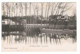 AUVERS SUR OISE - 95- VUE GENERALE- PENICHE - Auvers Sur Oise