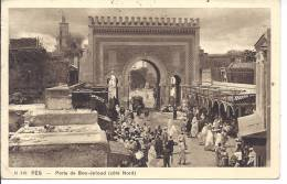 --FES -- PORTE DE BOU-JELOUD -- COTE NORD -- 1934 - Sin Clasificación