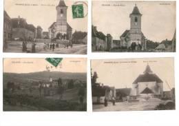 4 Cartes Postales VRIANGE JURA - France