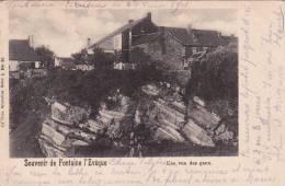 Souvenir De Fontaine L'Evêque 32: Une Vue Des Gaux 1901 - Fontaine-l'Evêque