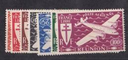 Réunion N° 28 à 34**  PAR AVION Neuf Sans Charniere - Réunion (1852-1975)