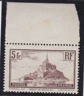 TIMBRE N° 260 MONT ST MICHEL  NEUF XX BORD DE FEUILLE  COTE : 45 € - Unused Stamps