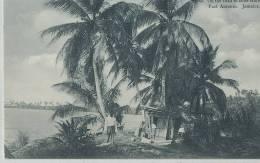 KKS 251/ C P A   -  ASIE- JAMAICA -    ON THE ROAD BLUE HOIE  PORT ANTONIO - Postcards