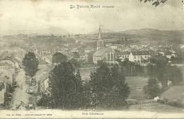 88 CPA La  Petite Raon Vue Generale Sur Le Village Rue Eglise - Autres Communes