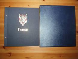 MJ - Album Reliure DAVO Standard France Gravée IV (n°4) + Protection - Alben Leer
