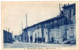 VAVINCOURT - Rue De La Gare / CPA Animée - Vavincourt