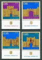 Israel - 1971, Michel/Philex No. : 503-506,  - MNH - *** - Full Tab - Ungebraucht (mit Tabs)