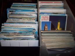 Lotto 200 Cartoline A Colori Da Tutto Il Mondo. Molte Viaggiate. - 100 - 499 Cartoline