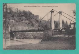 SAINT ROMANS EN ROYANS --> Le Pont De Beauvoir Sur L'Isère - France