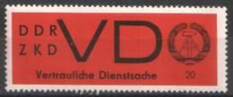 DDR / GDR - Mi-Nr 3y Postfrisch / MNH ** (C333) - Service