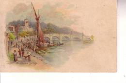 Cart. Colori Richmond(  R.Unito) Bridge - London Suburbs
