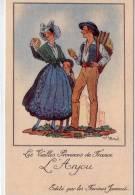 """Illustrateur """"Jean Droit""""..les Vieilles Provinces De France..l´Anjou..farines Jammet - Droit"""