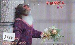 Télécarte Japon FLEUR * ORCHID (3257) Orchidée Orquídea Orchidee Orquidée Orchid * Flower Phonecard Japon - Blumen